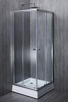 Cabina de dus patrata ELEGANT sticla 6 mm Transparent 70x70x190