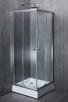 Квадратная душевая кабина ELEGANT стекло 6 mm прозрачное