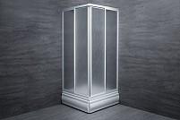 Cabina de dus patrata Plexiglass mat