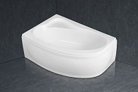 Акриловая асимметричная угловая ванна Artemide 150x100cm