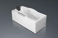 Акриловая прямоугольная ванна Daniela 170x80cm