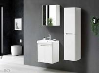 Dulap cu oglinda Rio 70cm (white)