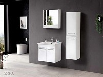 Dulap cu oglinda Sofia 65cm (white)
