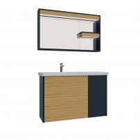 Мебель для ванной CREAVIT Intenso 100cm IT0100.00.AW